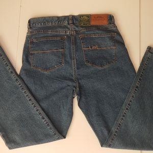 NWT LRL Lauren Jeans Co. Classic Straight Sz 4P